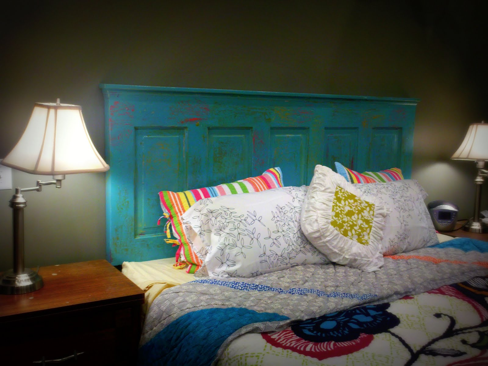 Sugar Blossom Boutique How To Turn An Old Door Into A