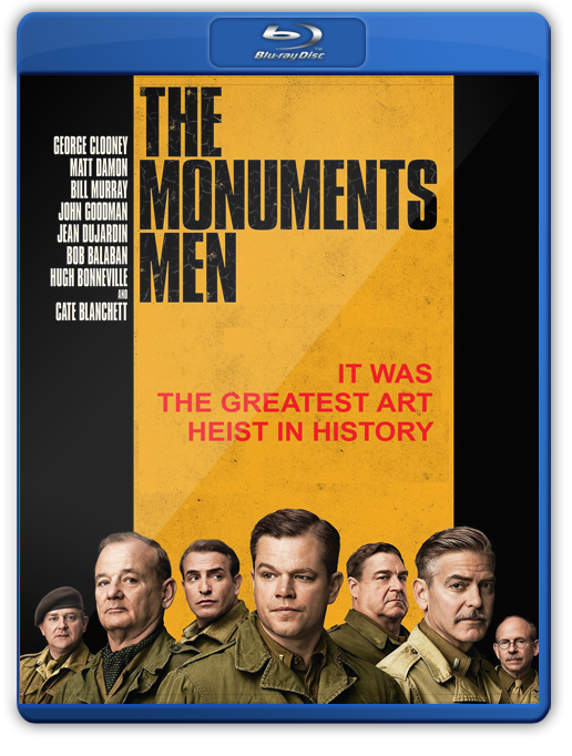 Monuments Men Bluray