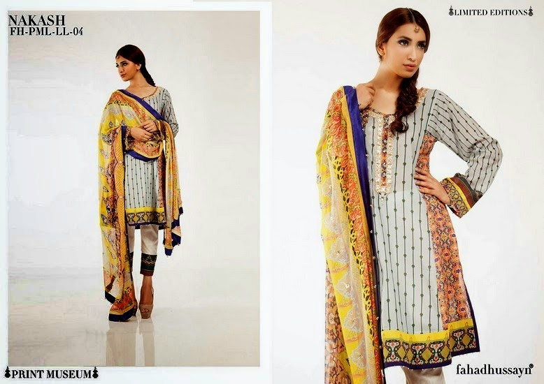 Print Museum Lawn Eid Collection 2014