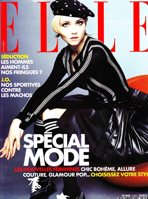 Alexandra Egorova Elle France via fashioned by love
