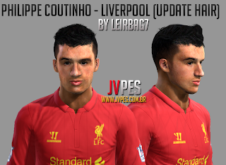 Face Philippe Coutinho PES 2013 by Leirbag7