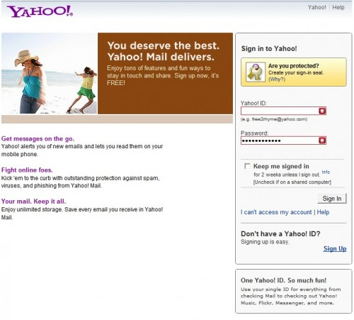 Yahoo Indonesia Yahoo Mail Login
