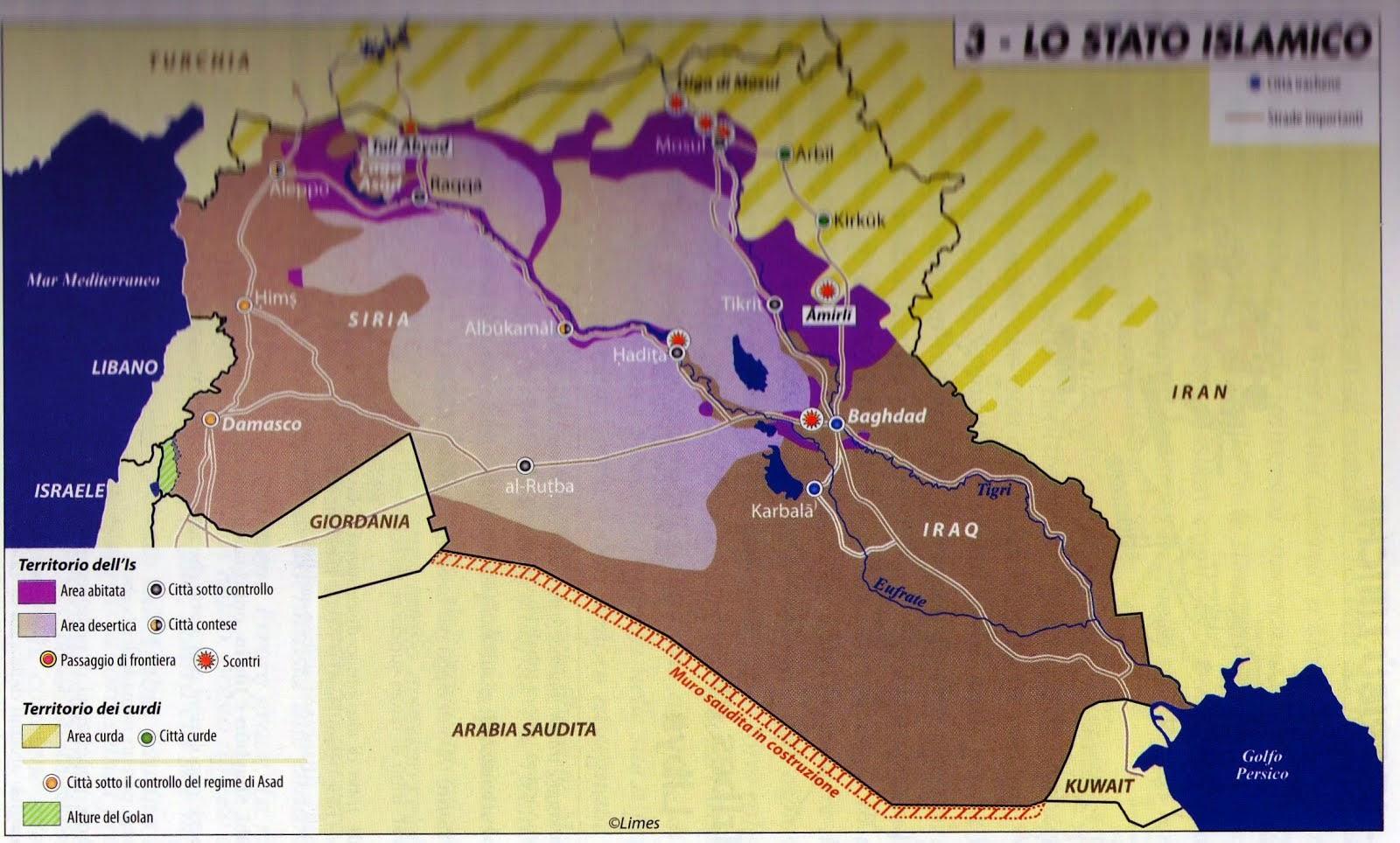 Cesena. 31 ottobre 2014. Lezione: La Siria e lo Stato Islamico