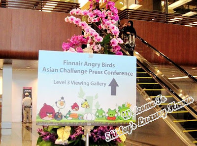 finnair angry birds asian challenge press conference
