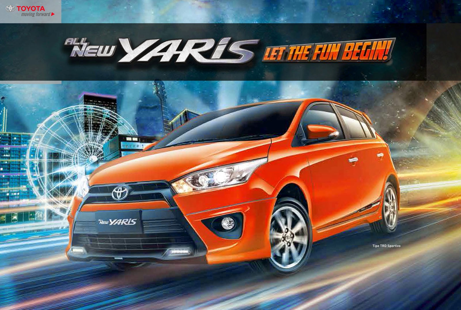 Toyota All New Yaris TRD Sportivo