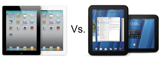 ipad vs hp touchpad