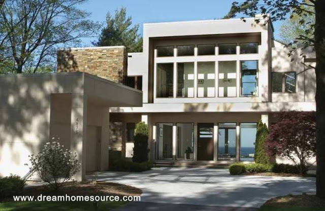 Proyecto renderizado de una residencia estilo Contemporáneo
