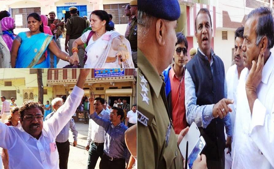 राजस्थान के बांसवाड़ा जिले में हुए नगर निकाय चुनाव में बीजेपी पर फ़र्ज़ी मतदान का आरोप लगाते हुए कांग्रेस और निर्दलीय उमीदवारों ने कहा है की नगर निगम में अध्यक्ष पद को पाने के लोभ में जिले की बीजेपी इकाई ने कई गैर कानूनी हथकंडो का इस्तेमाल किया है, जो  किसी भी द्रष्टि से न्यायसंगत नहीं है।