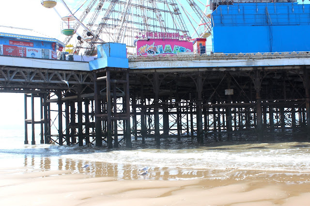 The Blackpool Central Pier Structure