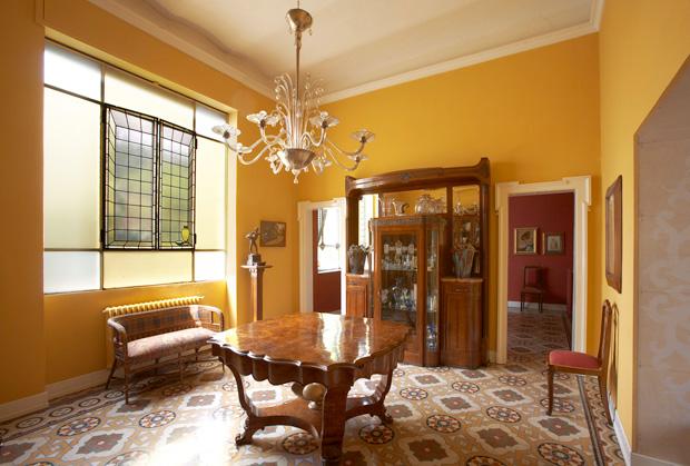 Vintage a colori ristrutturazione di una villa d 39 epoca for Interni ville antiche