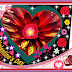 Happy valentine's day flowers cards designs.