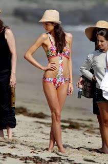 Kendall Jenner strikes a pose in a bikini