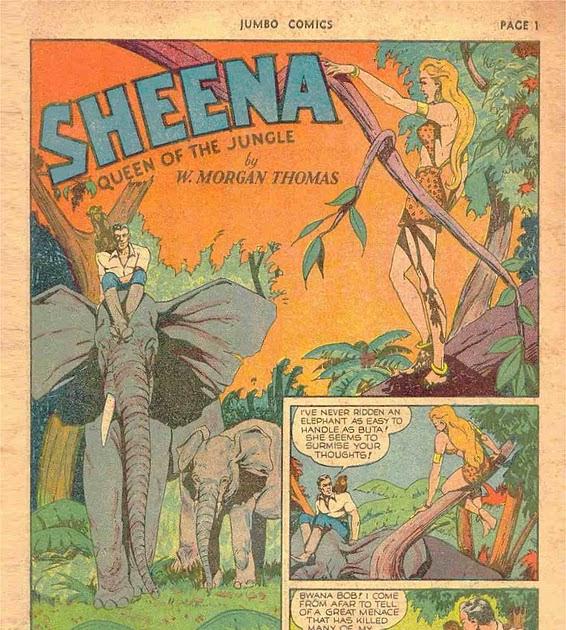 the comic book catacombs  sheena  queen of the jungle in  u0026quot swamp of the green terror u0026quot   fiction