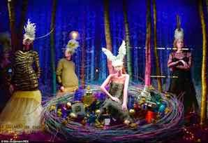 Selfridges Christmas Display