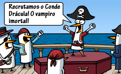 Piratas e vampiros