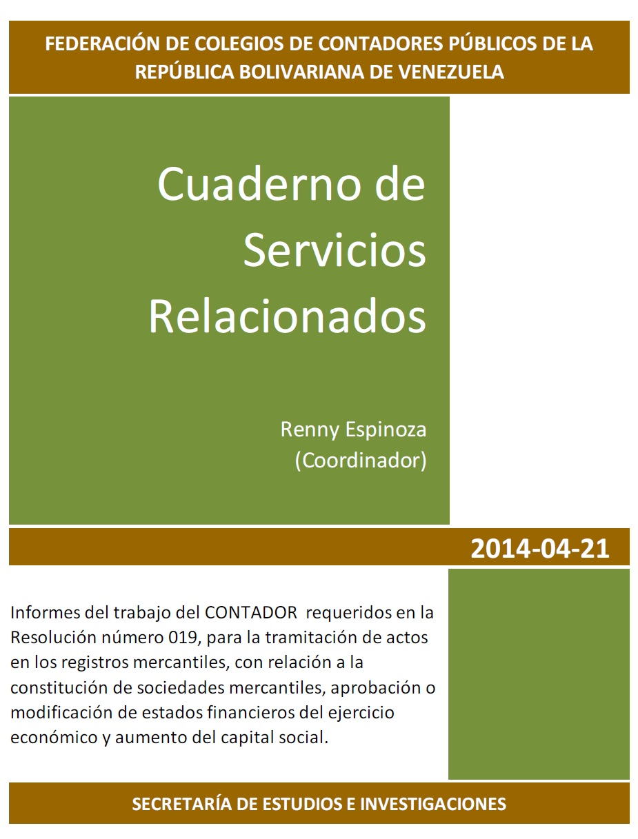 Guías de Servicios Relacionados y Trabajos de Revisión