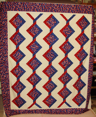 Red, White and Blue Quilts, Simple Gifts