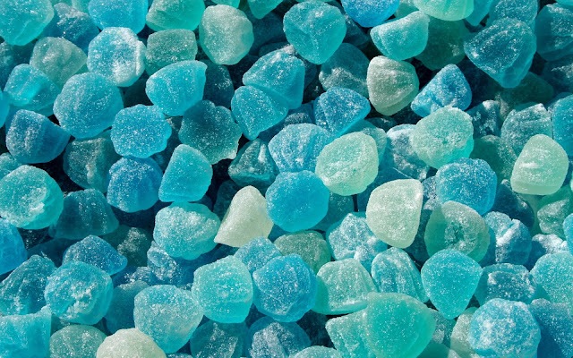 Blue Jelly Candy