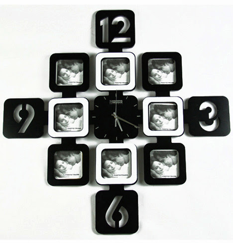 Photo Frame Wall Clock Wallpapers Free Download