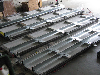 Reinforced garage door panels.