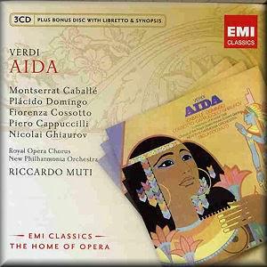 Verdi Aida Domingo Caballe