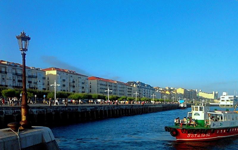 Paseo Marítimo del Muelle de Calderón en Santander