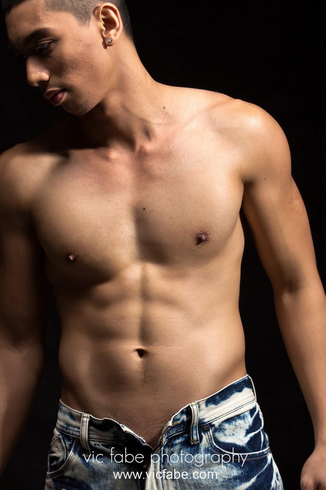 Shirtless James