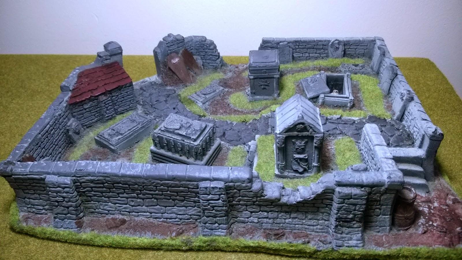 GW graveyard terrain scenery gothic horror