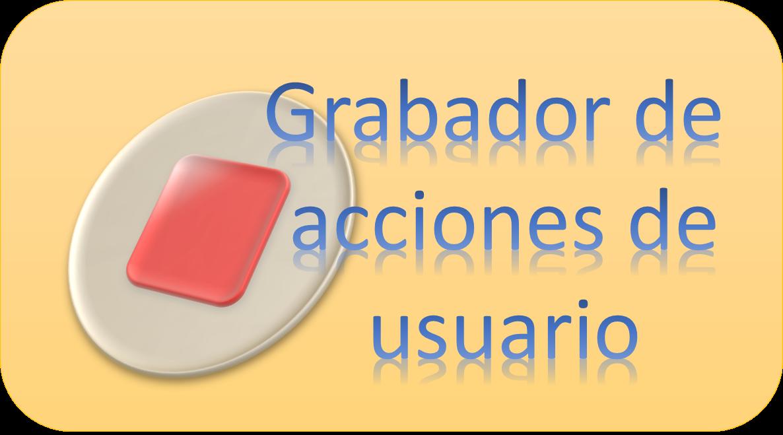 grabador de acciones de usuario