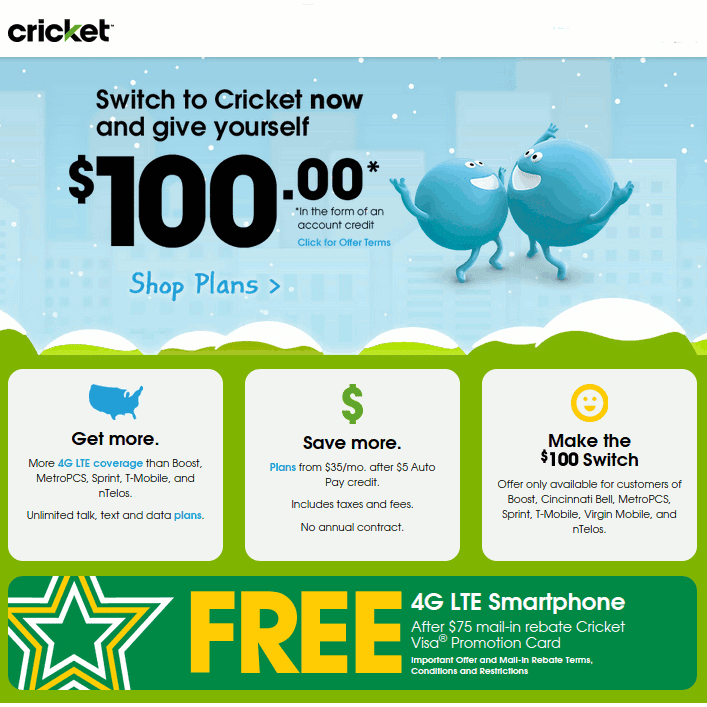 how to close cricket mobile account