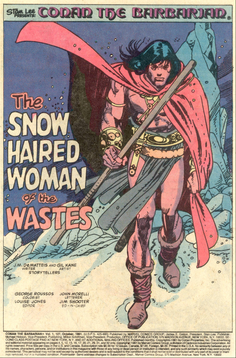 Conan the Barbarian (1970) Issue #127 #139 - English 2