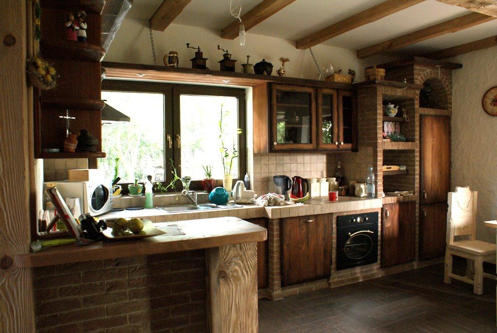 Kuchnia w rustykalnym stylu  Pasiasty Stworek   -> Kuchnie W Rustykalnym Stylu