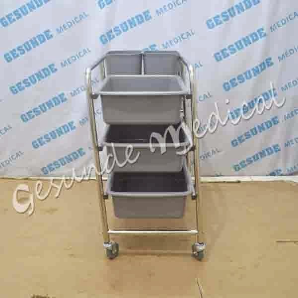 DISH CLEARING TROLLEY