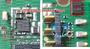 Nokia asha 300 mic not working problem solution jumpers