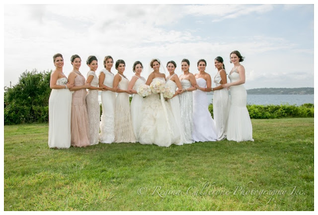 long bridesmaids dress