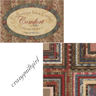 COMFORT COLLECTIONS FOR A CAUSE Quilt Fabric by Howard Marcus for Moda Fabrics