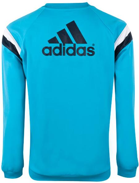 Sweater Training GO Chelsea Biru Muda 2014 - 2015 Gambar Katalog Tampak Belakang