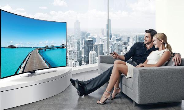 TV Tela Curva