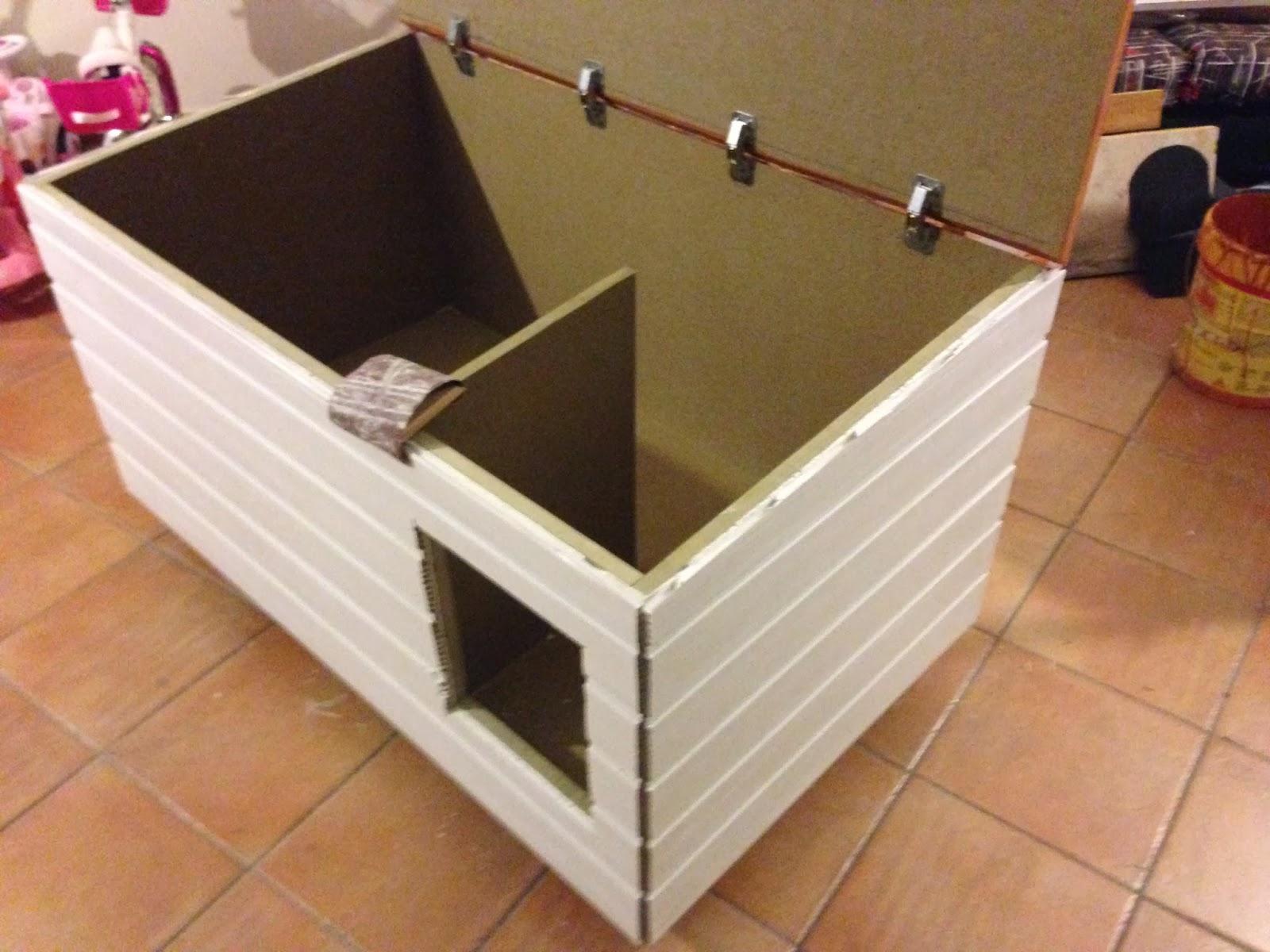 Contruir caseta aislada para nuestro perro diciembre 2013 - Construir caseta de madera ...
