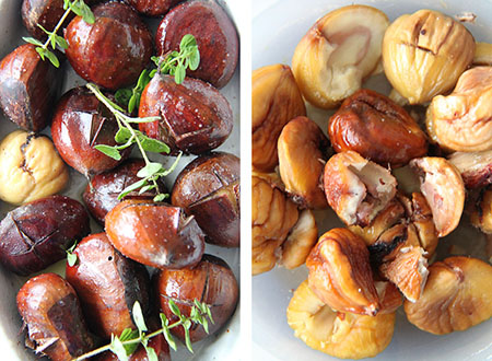 Dan Roman's Buttery Roasted Chestnuts In Foil Recipes — Dishmaps