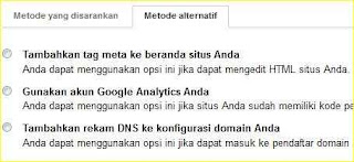 cara mendaftarkan atau submit blog di google