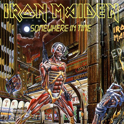 """Today's song is """"Wasted Years,"""" a track written by rhythm guitarist Adrian Smith, who also sings lead vocals on the chorus. It's an example of a poppier ' ..."""