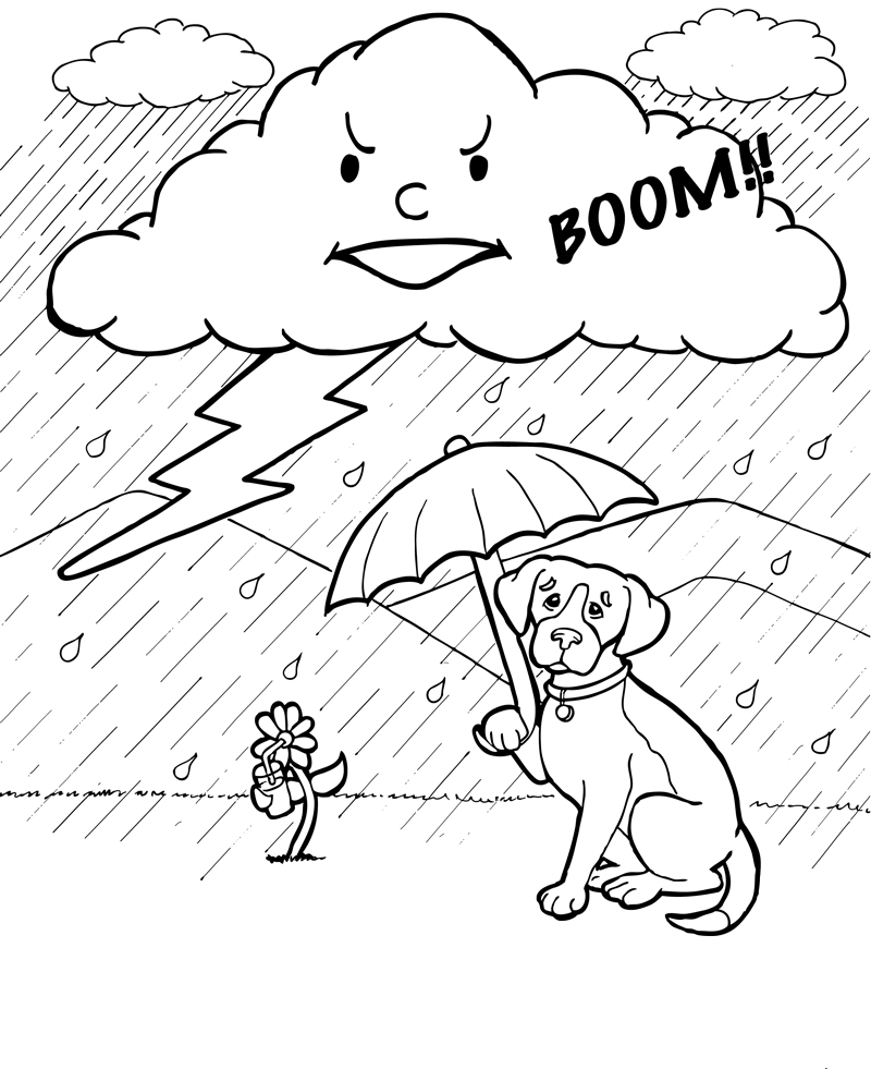 Jennifer k keller illustrations april 2011 for Coloring pages weather