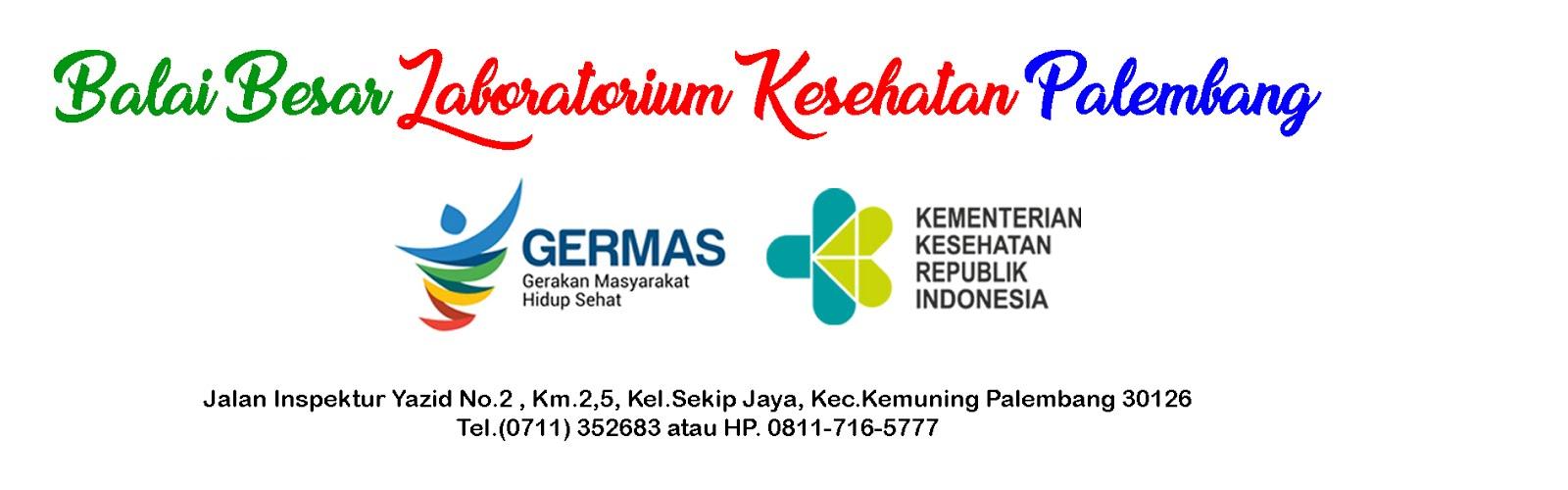 Balai Besar laboratorium Kesehatan Palembang