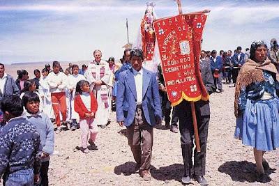 Prozession in Rio Mulato