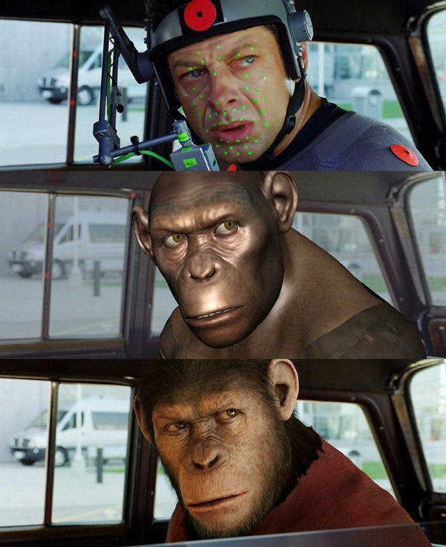 Rise of the planet of the apes before and after