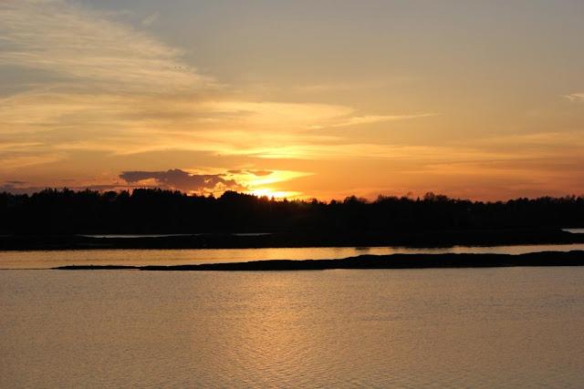 white cedar inn sunset