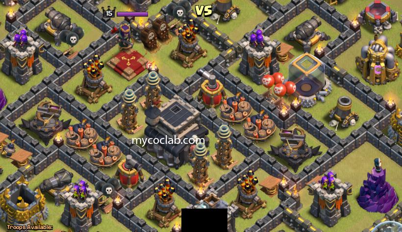 Th9 anti surgical hog riders attack war base layout mycoclab clash