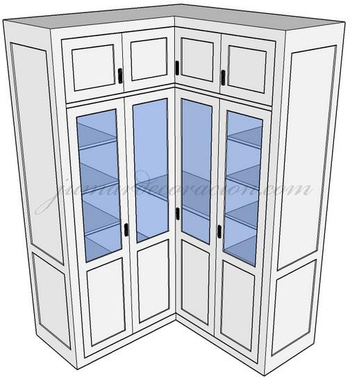Jumar decoraci n armario empotrado esquina - Diseno armario empotrado ...