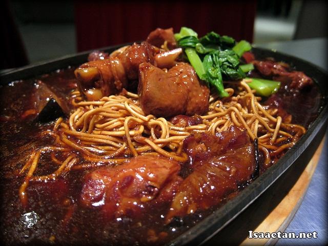 Hotplate Mushroom Chicken Yee Mee - RM7.90